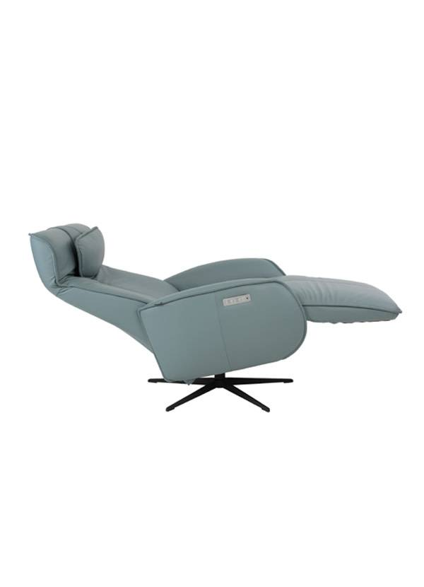 Fjords AXEL RECLINER LG W BATTERY ICE SL 244