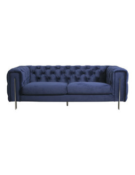 Moes COURTNEY 2 SEAT SOFA ROYAL BLUE