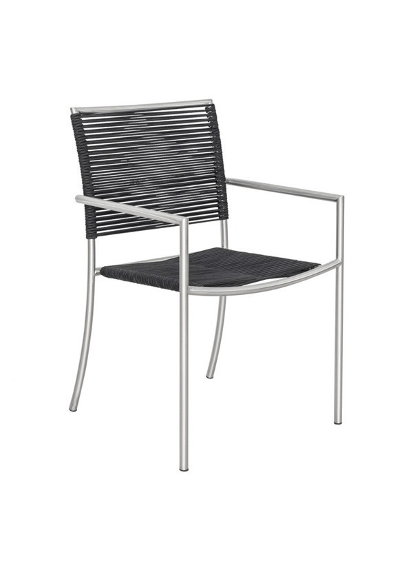 Moes BRYNN OUTDOOR DINING CHAIR BLACK-M4