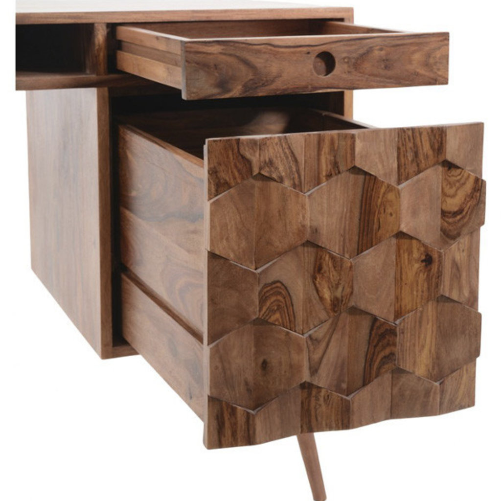 Moe's Home Collection O2 Desk Brown