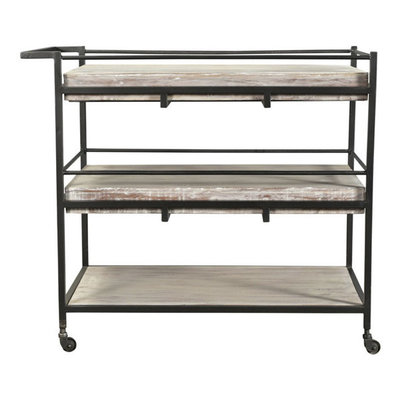 Moe's Home Collection Diavik Bar Cart
