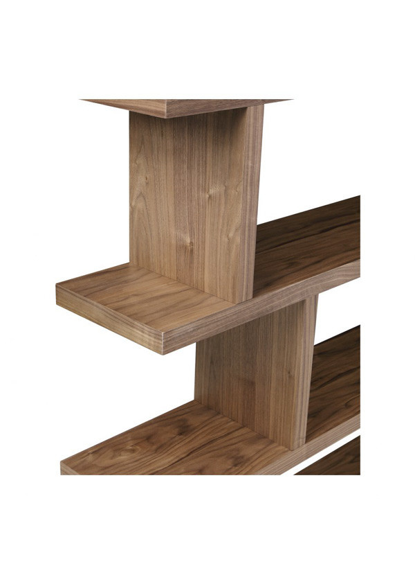 Moes MIRI SHELF LARGE WALNUT
