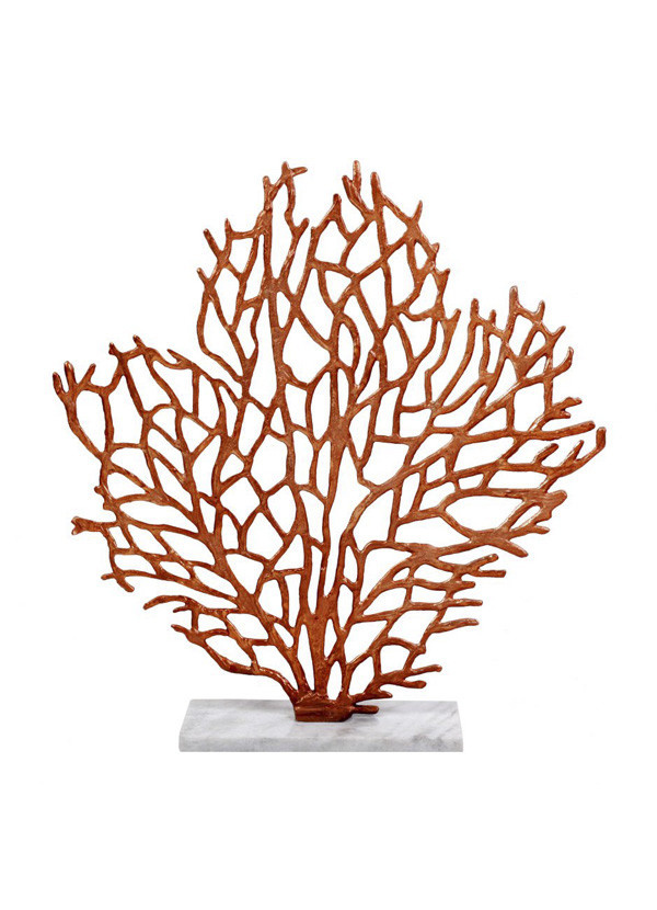 Moes FOLIAGE TABLE SCULPTURE BRONZE