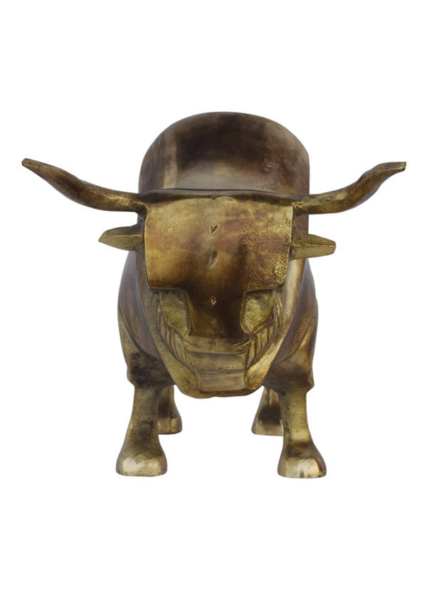 Moes GOLDEN BULL SCULPTURE