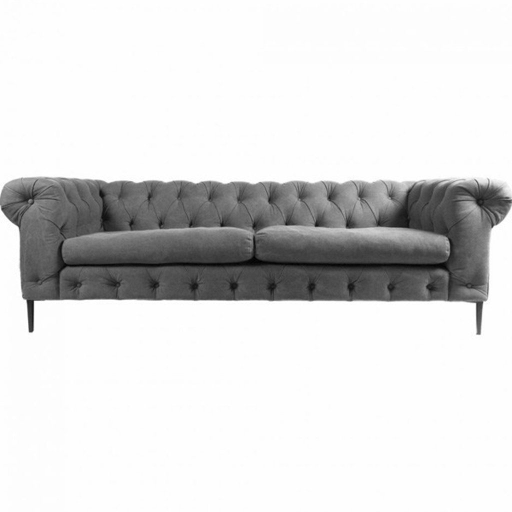 Moe's Home Collection Canal Sofa Grey