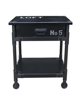 Moes SOHO 1 DRAWER CABINET BLACK