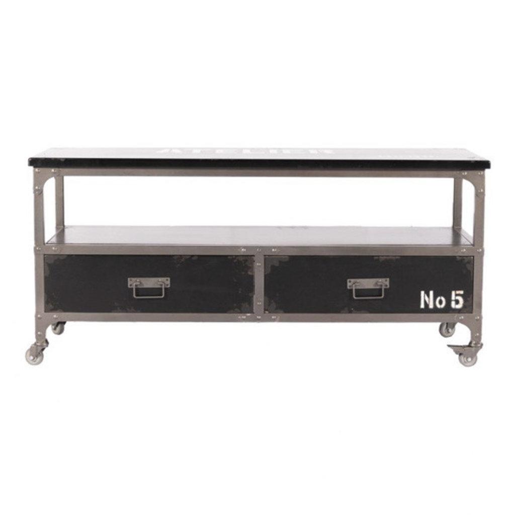 Moe's Home Collection Soho TV Table Black