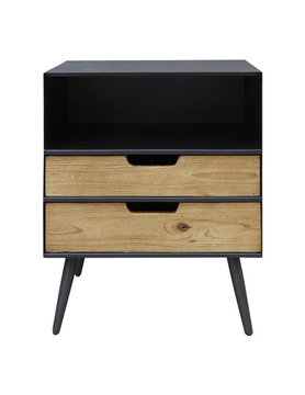 Moes MILNER 2 DRAWER SIDE TABLE