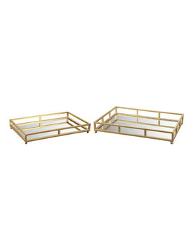 Moes GRID TRAY RECTANGLE SET OF 2