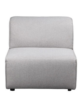 Moes RODEO SLIPPER CHAIR LIGHT GREY