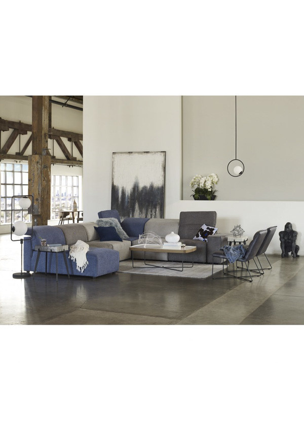 Moes RODEO CHAISE BLUE