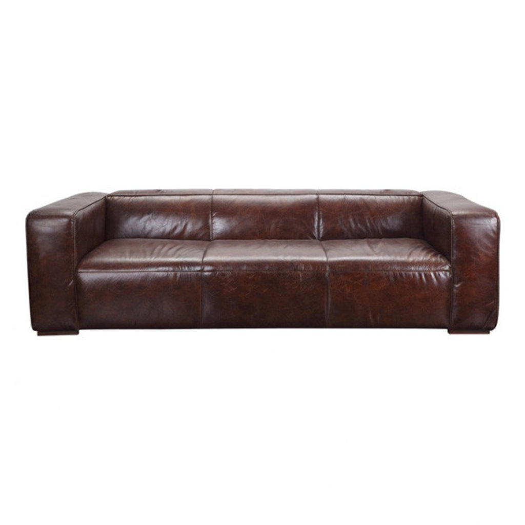 Moe's Home Collection Bolton Sofa Brown