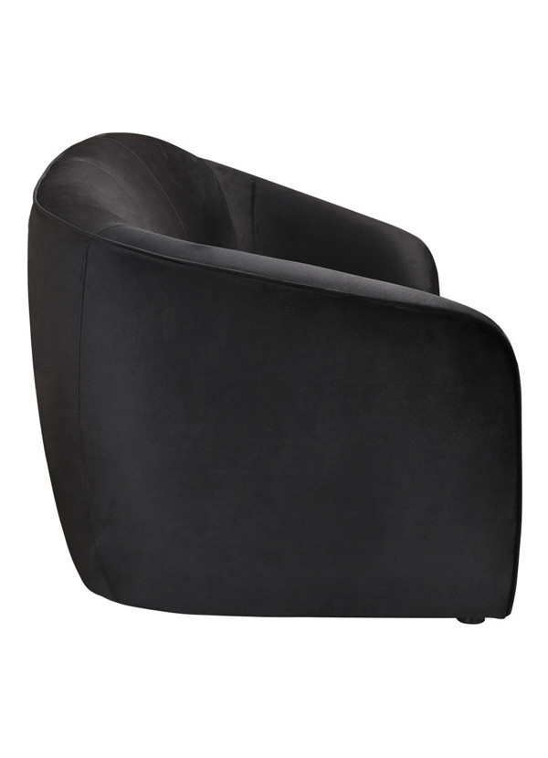 Moes COURBE SOFA BLACK VELVET