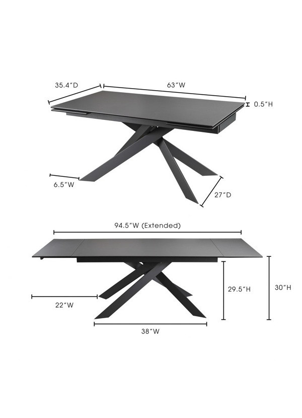 Moes AVANT EXTENSION TABLE