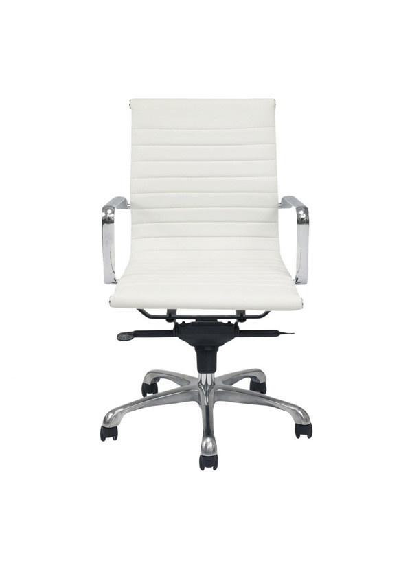 Moes OMEGA OFFICE CHAIR LOW BACK WHITE-M2