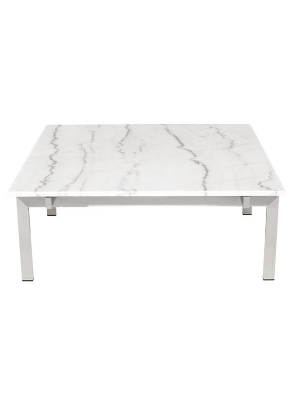 Nuevo Living LOUVE COFFEE TABLE WHITE