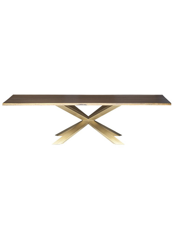 Nuevo Living COUTURE DINING TABLE SEARED