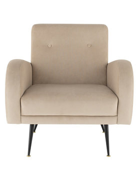 Nuevo Living HUGO OCCASIONAL CHAIR NUDE