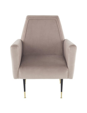 Nuevo Living VICTOR OCCASIONAL CHAIR BLUSH