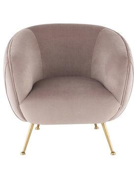 Nuevo Living SOFIA OCCASIONAL CHAIR BLUSH