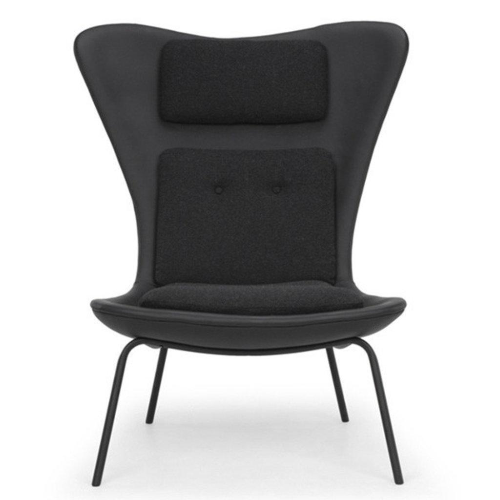 Nuevo Living Barlow Occasional Chair Black