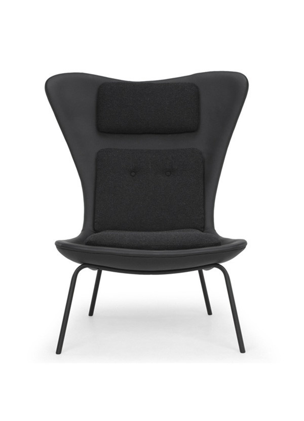 Nuevo Living BARLOW OCCASIONAL CHAIR BLACK