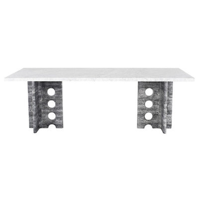 Nuevo Living Foundry Dining Table White