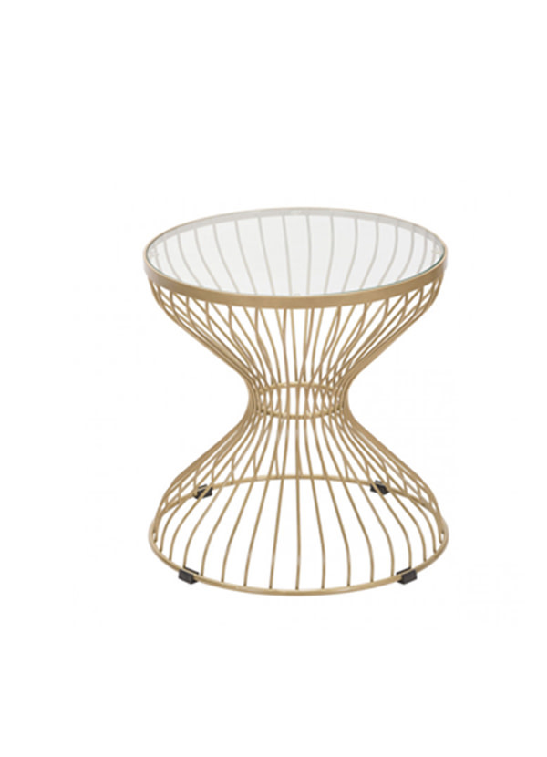 Zuo Modern ROSE SIDE TABLE GOLD
