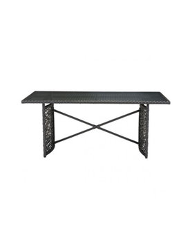 Zuo Modern SANTA CRUZ TABLE TERRA BROWN
