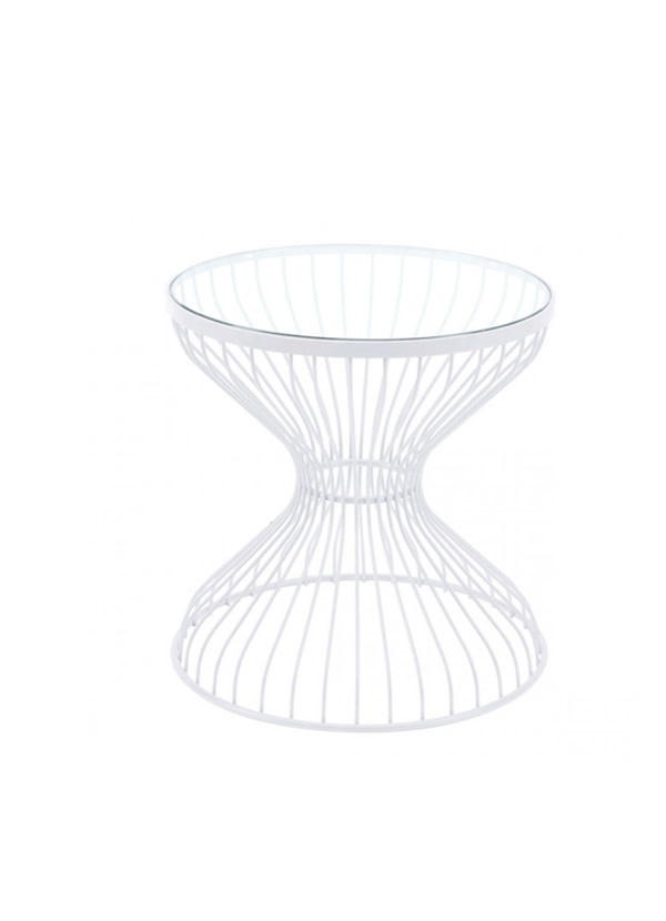 Zuo Modern ROSE SIDE TABLE WHITE