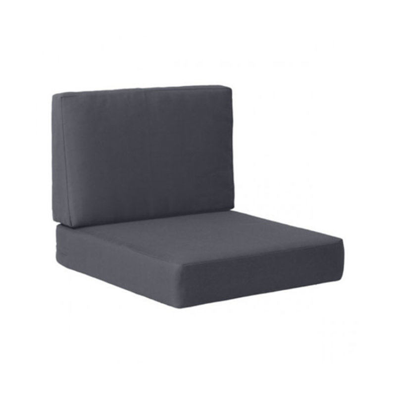 Zuo Modern Cosmopolitan Arm Chair Cushion Dark Gray