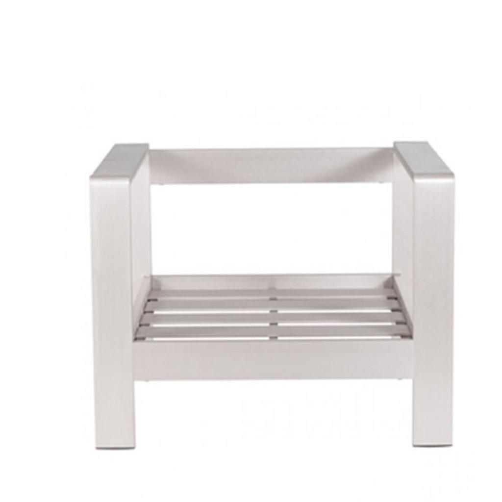 Zuo Modern Cosmopolitan Chair Frame Aluminum