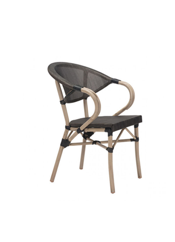 Zuo Modern MARSEILLES DINING CHAIR DARK BROWN