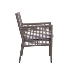 Zuo Modern Coronado Dining Chair Cocoa & Light Gray