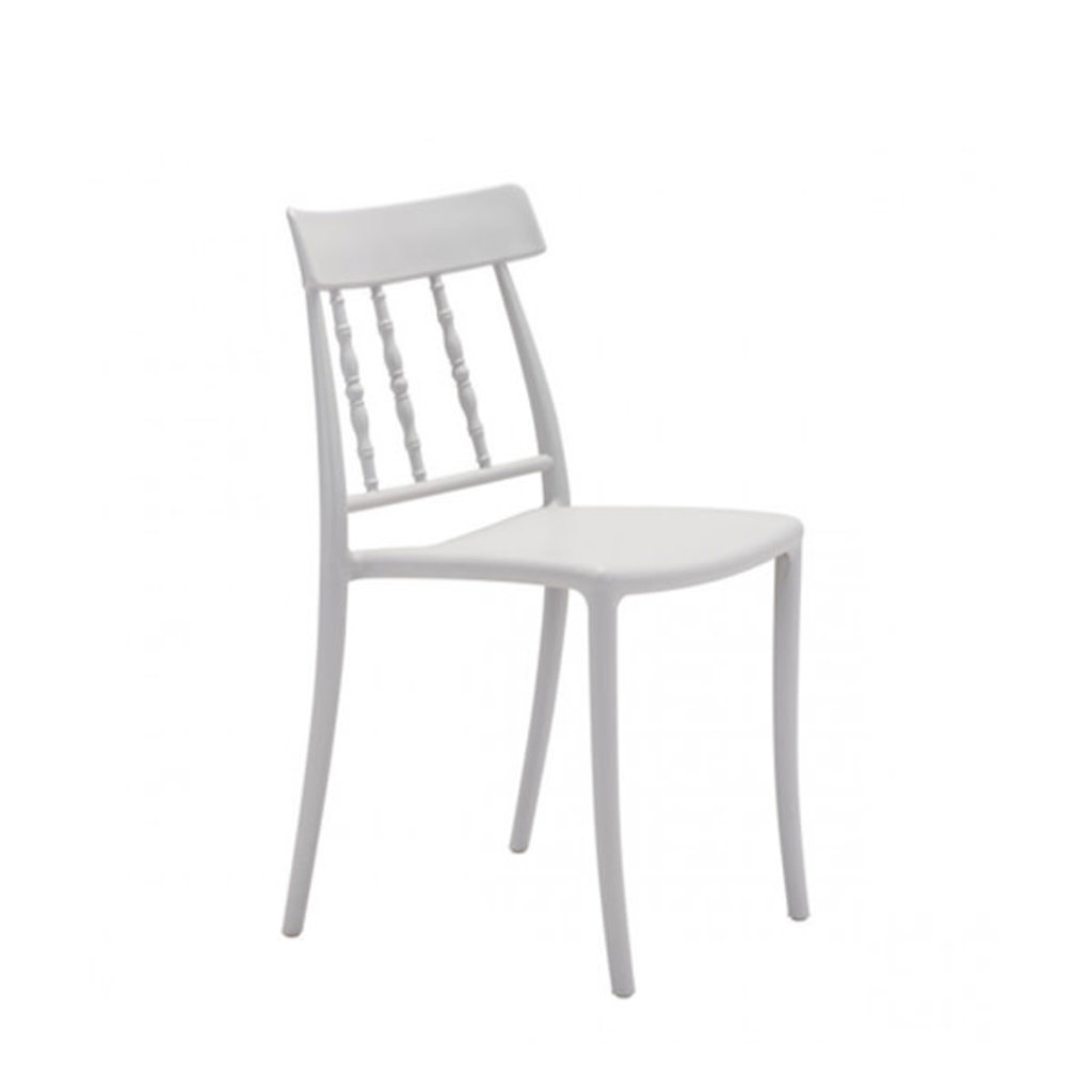 Zuo Modern Rift Dining Chair Gray