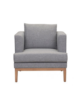 Zuo Modern EDEN ARM CHAIR GRAY