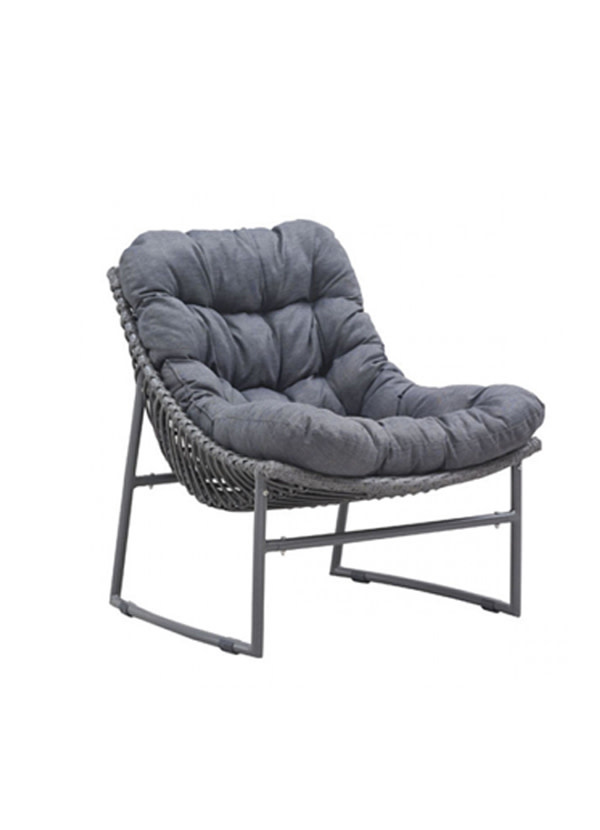 Zuo Modern INGONISH BEACH CHAIR GRAY