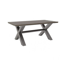 Zuo Modern Bodega Dining Table Grey Brown