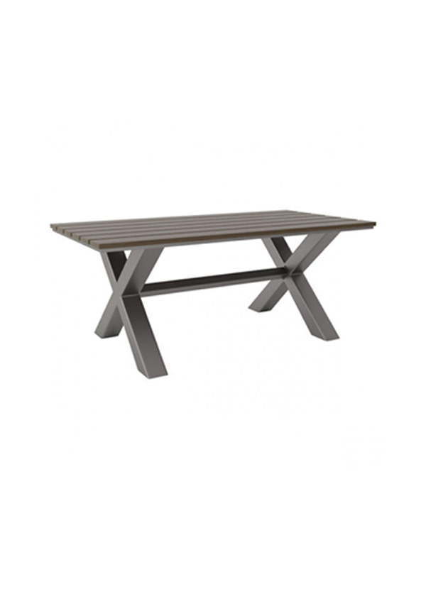 Zuo Modern BODEGA DINING TABLE IND. GRAY & BROWN