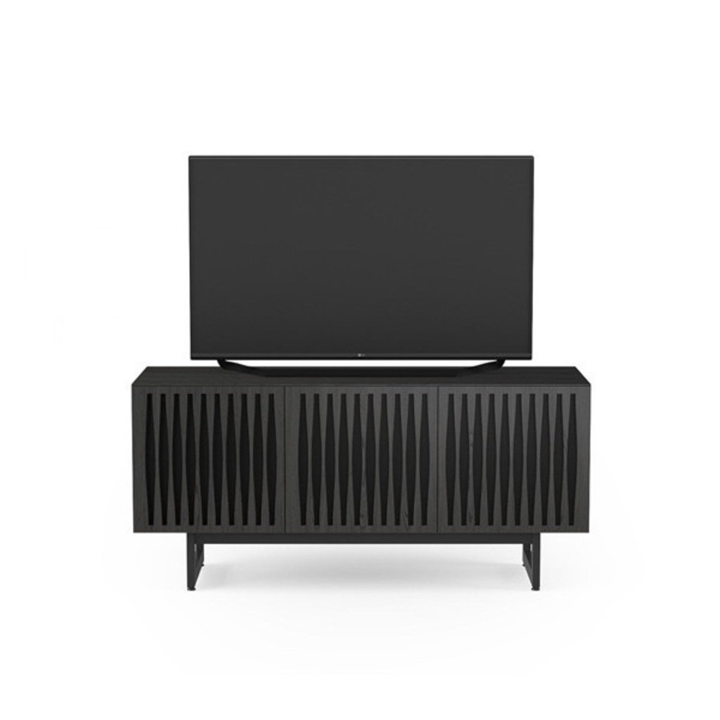 BDI Elements Tempo Media Cabinet Triple Charcoal