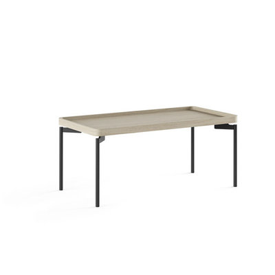 BDI Radius Drift Oak Rectangular Coffee Table