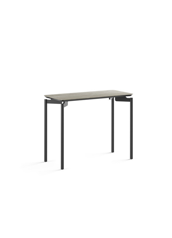 BDI Radius T Concreta Ceramic Rect End Table