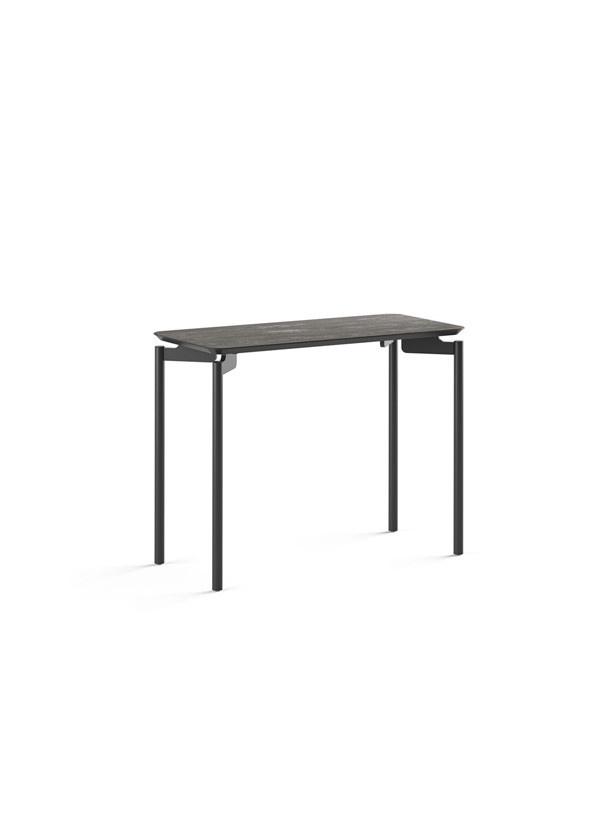 BDI RadiusT Ferrous Ceramic Rect End Table