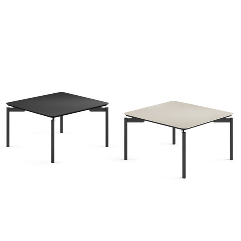 BDI Radius T Square Coffee Table Black