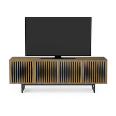 BDI Elements Tempo Console Walnut Quad Cabinet