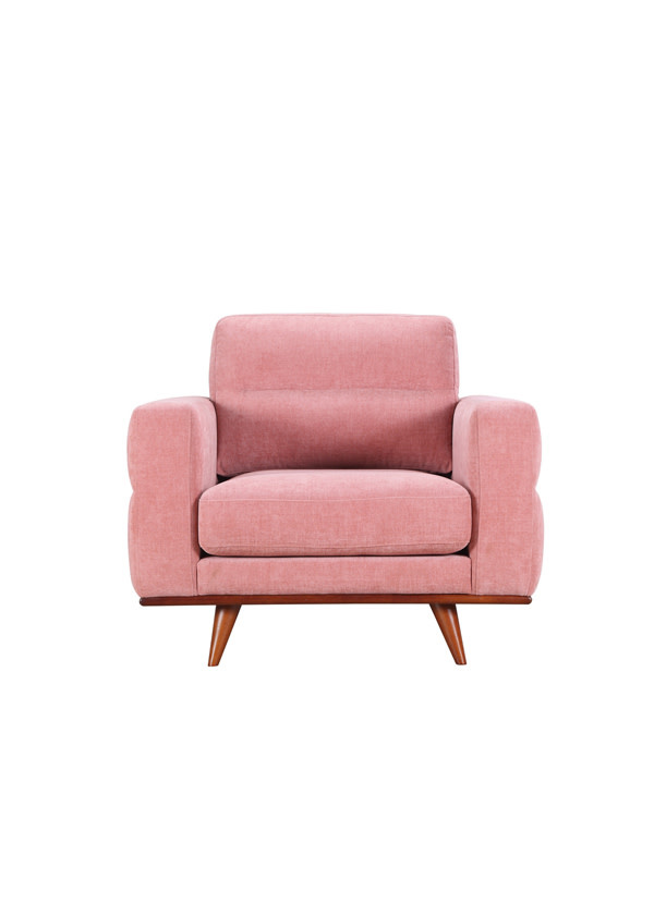 Urban Chic Leonardo Chair Nude Velvet