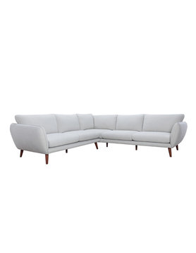 Urban Chic Stella LAF/RAF Corner Sofa Light Gray