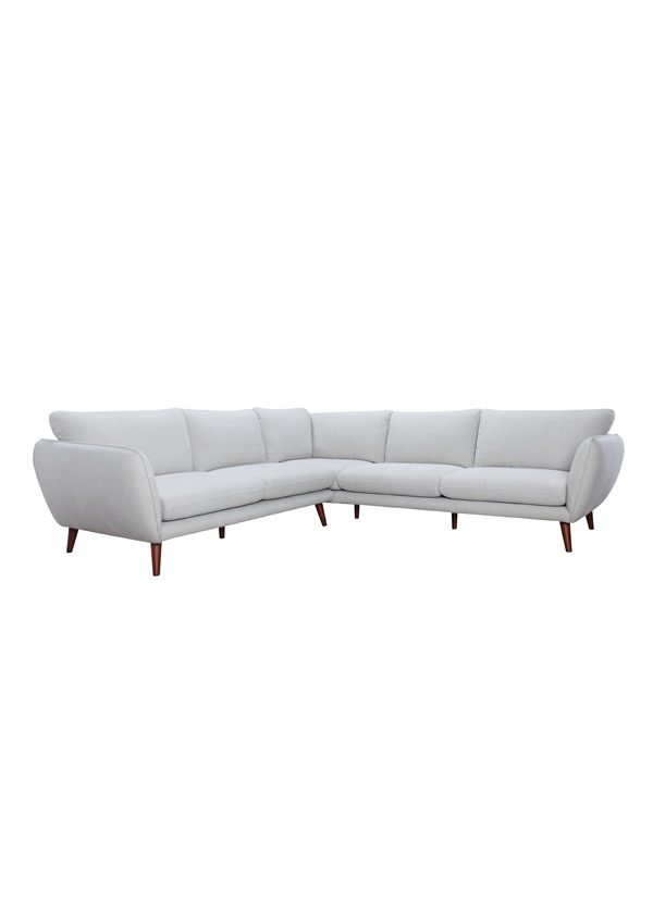 Stella Laf Raf Corner Sofa Light Gray