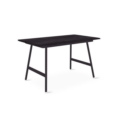 Gus Modern Envoy Desk  50 Surface Ash Black/ Lecture Leg Set Black Powder