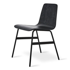 Gus Modern Lecture Chair Ash Black